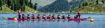 Weltweit höchstes Drachenboot-Rennen