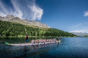 weltweit höchstes Drachenboot-Rennen am Obersee im Defereggental